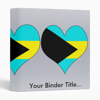 I Love Bahamas Binder