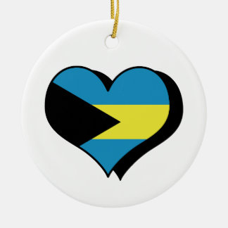 I Love Bahamas Ornament