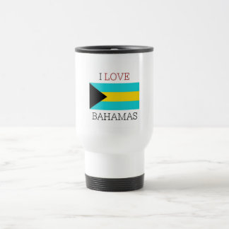 I love bahamas travel mug
