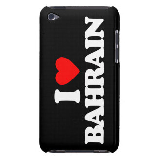 I LOVE BAHRAIN iPod TOUCH CASES