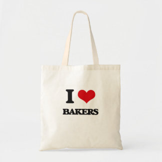 I Love Bakers Tote Bag