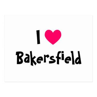 I Love Bakersfield Postcard