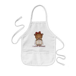 I Love Baking apron