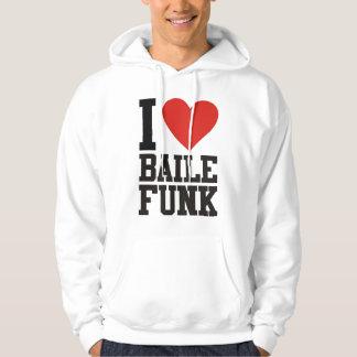 I love BALL FUNK Hoodie