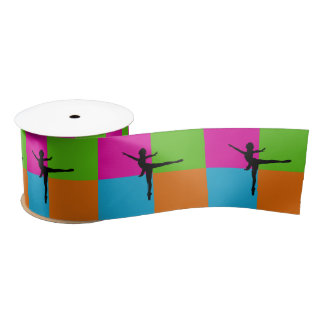 I love ballerina ribbon satin ribbon