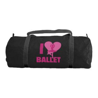 I love ballet gym bag