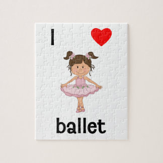 I love ballet jigsaw puzzle