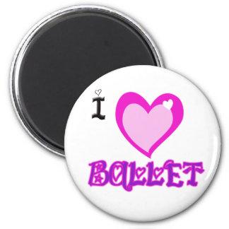 I LOVE Ballet Magnet