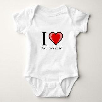 I Love Ballooning Baby Bodysuit