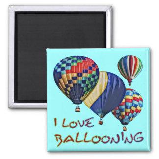 I Love Ballooning Magnet