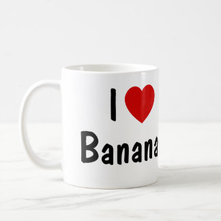 I Love Bananas Coffee Mug