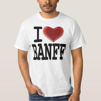 I Love BANFF T-Shirt