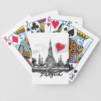 I love Bangkok Bicycle Playing Cards