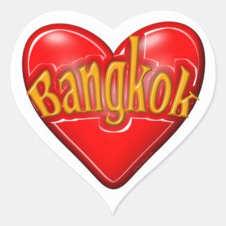I Love Bangkok Heart Sticker