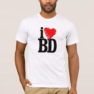 i love bangladesh (bd) T-Shirt