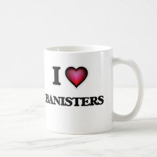I Love Banisters Coffee Mug