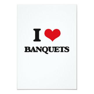 I Love Banquets Personalized Invite