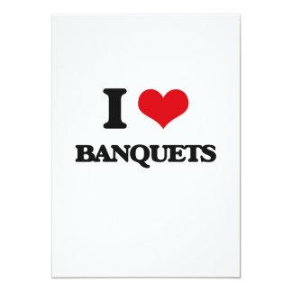 I Love Banquets Card