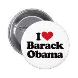 I Love Barack Obama Pinback Button