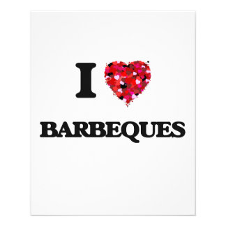 I Love Barbeques Flyer