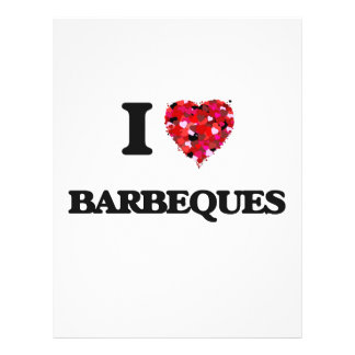I Love Barbeques Full Colour Flyer