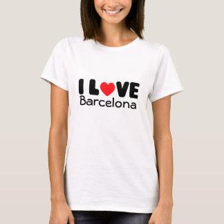 I love Barcelona   Ladies Spaghetti Top