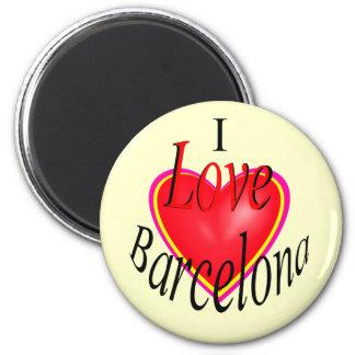 I Love Barcelona! Magnet