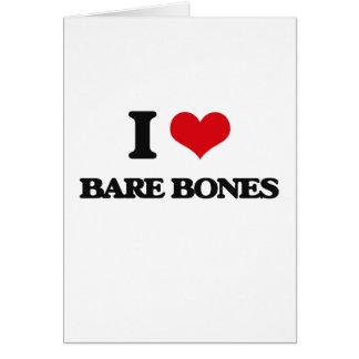 I Love Bare-Bones Cards