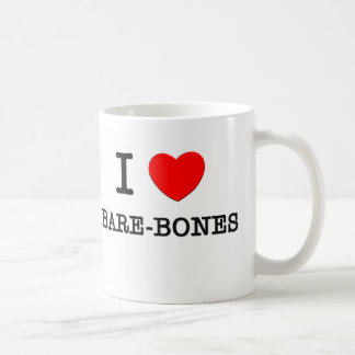 I Love Bare-Bones Mug