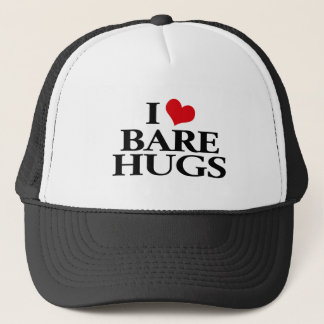 I Love Bare Hugs Trucker Hat