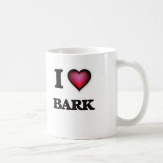 I Love Bark Coffee Mug