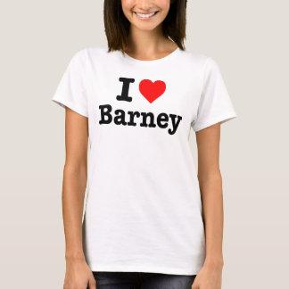"""I LOVE BARNEY"" T-Shirt"