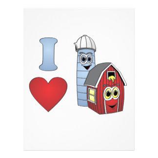 I love barns letterhead