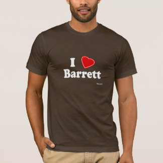 I Love Barrett T-Shirt