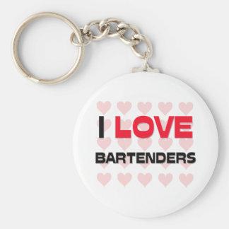 I LOVE BARTENDERS KEYCHAIN