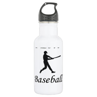 I Love Baseball 532 Ml Water Bottle