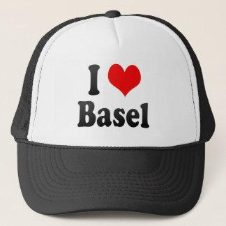 I Love Basel, Switzerland Trucker Hat