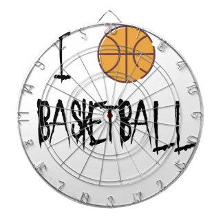 I Love Basketball Dartboard