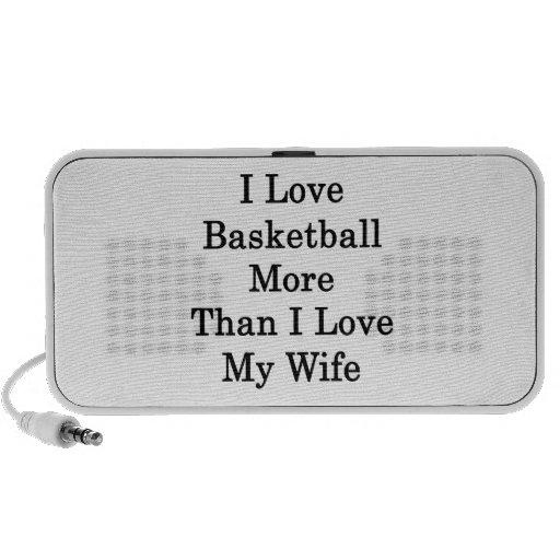 I Love Basketball More Than I Love My Wife Travelling Speaker