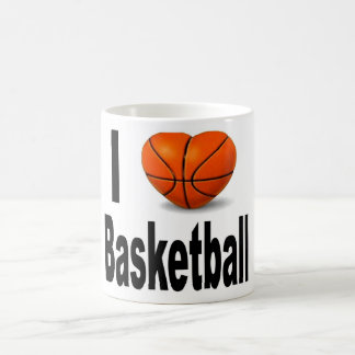 I love basketball mug