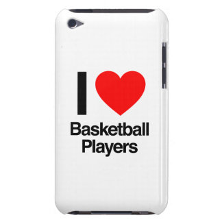 i love basketball players iPod Case-Mate cases