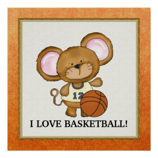 I Love Basketball poster