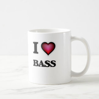 I Love Bass Coffee Mug