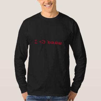 I love bass tee shirt
