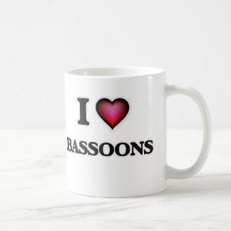 I Love Bassoons Coffee Mug