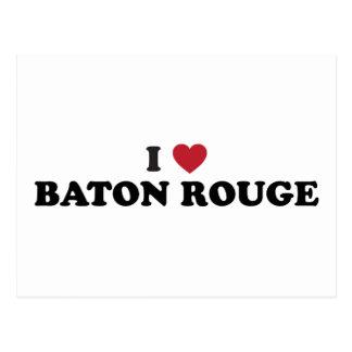 I Love Baton Rouge Louisiana Postcard