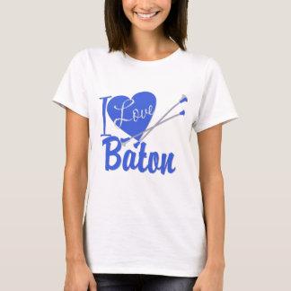 I Love Baton T-Shirt
