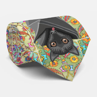 I love Bats! Bat Lover! Flying Fox Bats! Tie