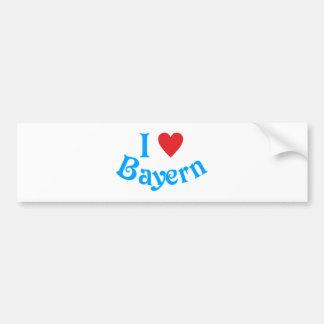I love Bavaria I love Bavaria Bumper Sticker