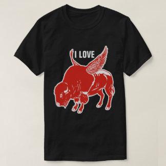 I Love BBQ Buffalo Wings T-Shirt